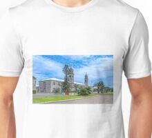 The Clock Tower,Royal Naval Dockyard,Bermuda.. Unisex T-Shirt