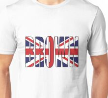 Brown (UK) Unisex T-Shirt