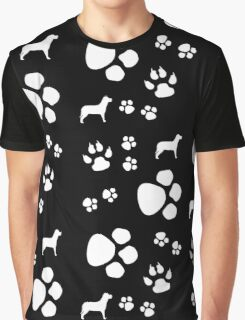 Doggy Paws Graphic T-Shirt