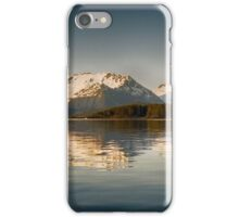 North Pass with calm water iPhone Case/Skin