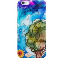ABSTRACT TREE & FLOWERS iPhone Case/Skin