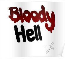 Bloody Hell/ Joe Sugg Poster