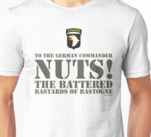 101st AIRBORNE- NUTS Unisex T-Shirt