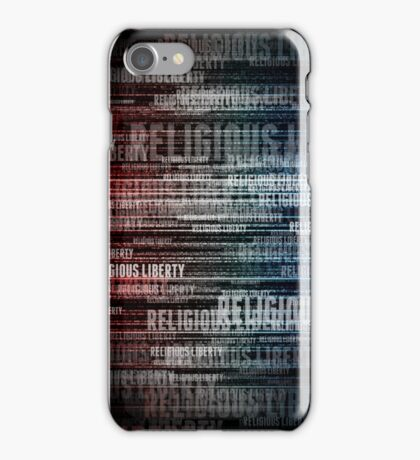Religious Liberty iPhone Case/Skin