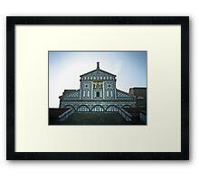 Basilica di San Miniato al Monte Framed Print