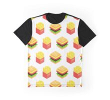 Burgers x Fries Graphic T-Shirt