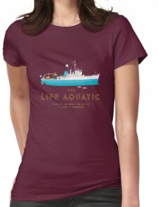 The Life Aquatic with Steve Zissou Womens Fitted T-Shirt