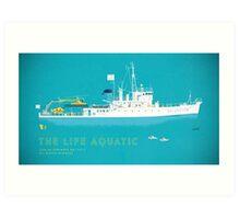 The Life Aquatic with Steve Zissou Art Print