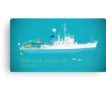 The Life Aquatic with Steve Zissou Canvas Print