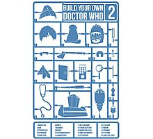 Build Your Own Doctor Who 2 Photographic Print