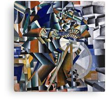 Kazimir Malevich - The Knife Grinder Or Principle Of Glittering  Canvas Print