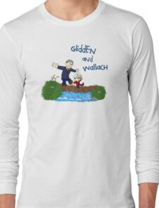 Dr. Glidden & Dr. Wallach mashup Long Sleeve T-Shirt