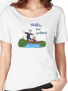 Dr. Glidden & Dr. Wallach mashup Women's Relaxed Fit T-Shirt