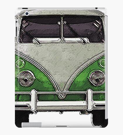Green Split window bus iPad Case/Skin