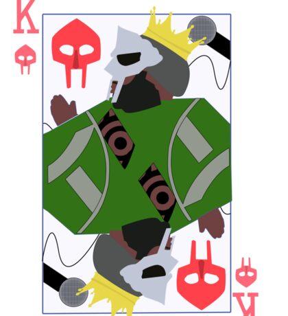 King Geedorah Playing Card Sticker