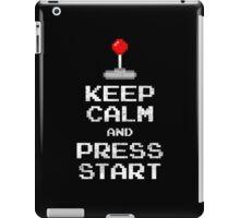 Keep Calm & Press Start iPad Case/Skin