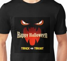 Halloween Card with Monsters Mouth Unisex T-Shirt