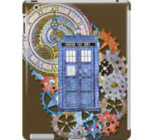 Mosaic TARDIS with Clock iPad Case/Skin