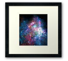 Nebula Galaxy Print Framed Print