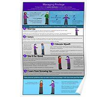 Managing Privilege Poster