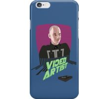 Knox Harrington, The Video Artist iPhone Case/Skin