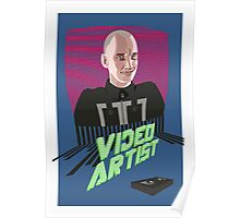 Knox Harrington, The Video Artist Poster