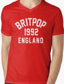 Britpop Mens V-Neck T-Shirt