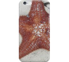 Starfish on the beach iPhone Case/Skin