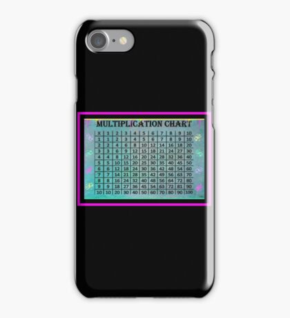 Multiplication Chart iPhone Case/Skin