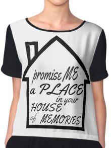 House of memories Chiffon Top