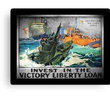 Victory Keep Sea Lanes Open Canvas Print