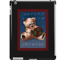 ABC Teddy iPad Case/Skin