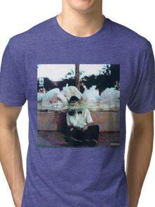 SESH garbage mixtape cover Tri-blend T-Shirt