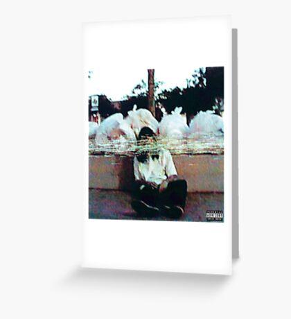 SESH garbage mixtape cover Greeting Card