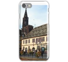 Strasbourg Old Town, France iPhone Case/Skin