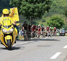 Tour de France 2014 - Peleton Stage 17 by MelTho