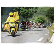 Tour de France 2014 - Peleton Stage 17 Poster