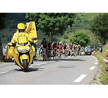 Tour de France 2014 - Peleton Stage 17 Photographic Print