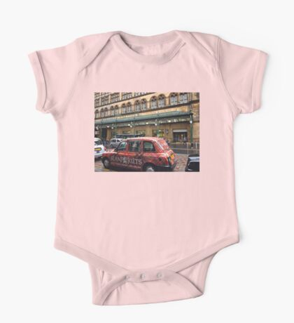 Central Station and Colourful Taxi One Piece - Short Sleeve