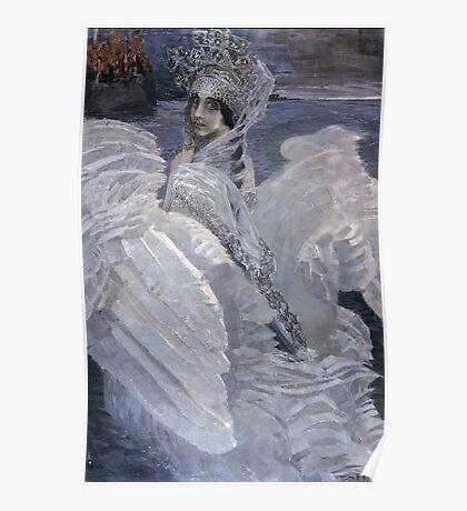 Mikhail Vrubel - Swan Princess 1900 Poster