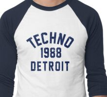 Techno Men's Baseball ¾ T-Shirt