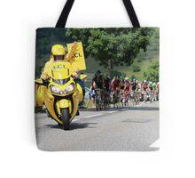 Tour de France 2014 - Peleton Stage 17 Tote Bag
