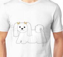 Maltese Dog Unisex T-Shirt