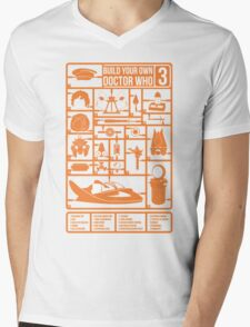 Build Your Own Doctor Who 3 Mens V-Neck T-Shirt