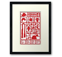 Build Your Own Doctor Who 4 Framed Print