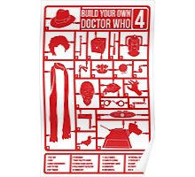 Build Your Own Doctor Who 4 Poster