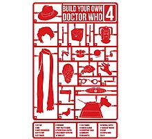 Build Your Own Doctor Who 4 Photographic Print
