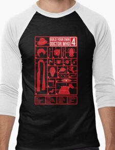 Build Your Own Doctor Who 4 Men's Baseball ¾ T-Shirt