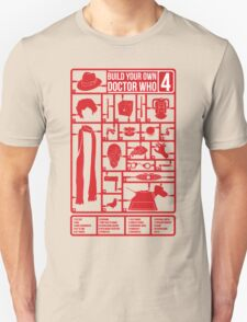 Build Your Own Doctor Who 4 Unisex T-Shirt