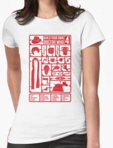 Build Your Own Doctor Who 4 Womens Fitted T-Shirt